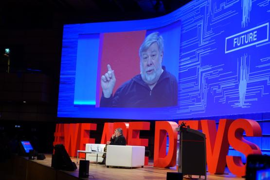 Steve Wozniak WeAreDevelopers 2018